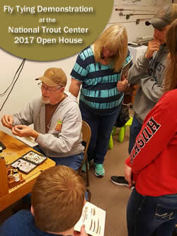 National Trout Center - Fly Tying Demonstration - Preston, MN