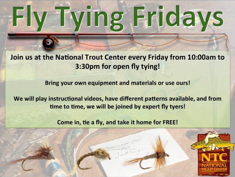 Fly Tying Friday @ National Trout Center