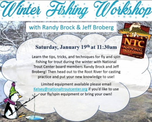Winter Fishing Workshop @ National Trout Center
